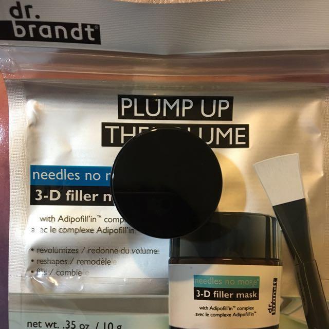 dr.brandt 🎀3-D超彈肌豐潤面膜 全新