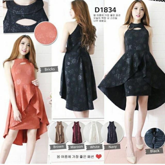 Emboss dress