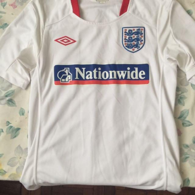 best authentic 8cec7 4485e England National Team training jersey, Men's Fashion ...