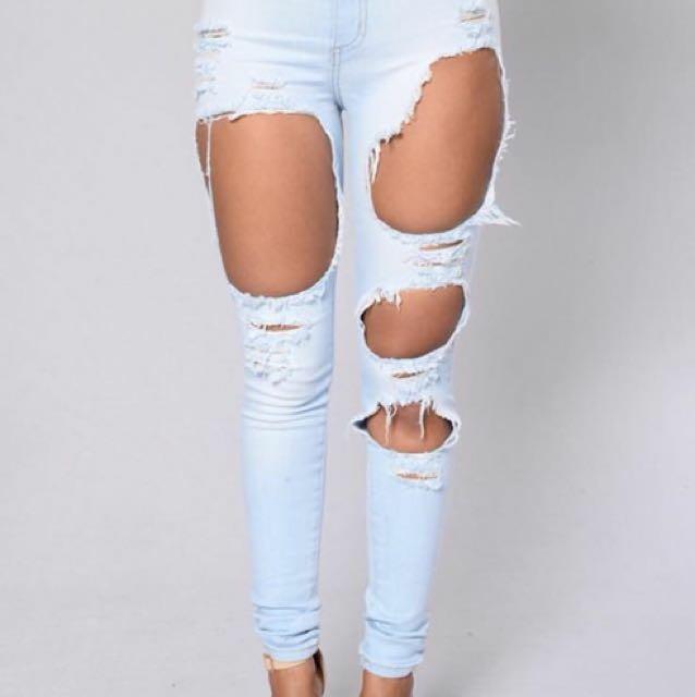 Fashion Nova Jeans size 5/ Aus size 10