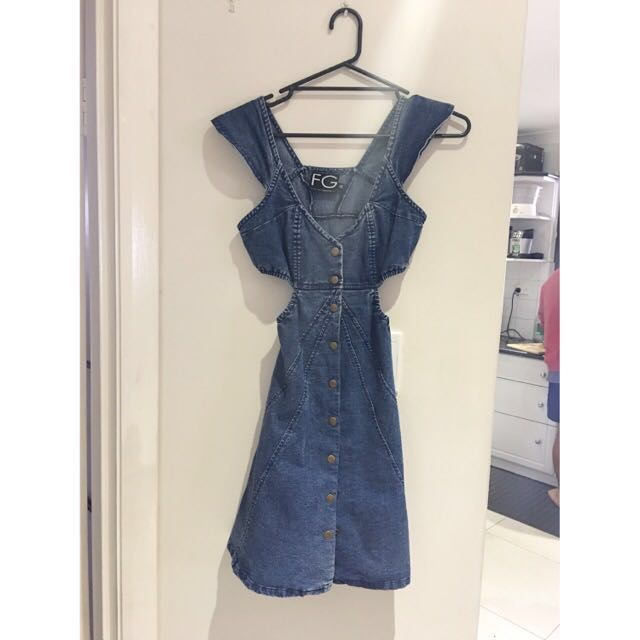 FG Denim Dress Size 6-8