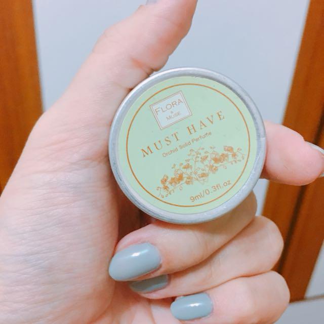 Flora 芙蘿拉 蘭花香水精油膏