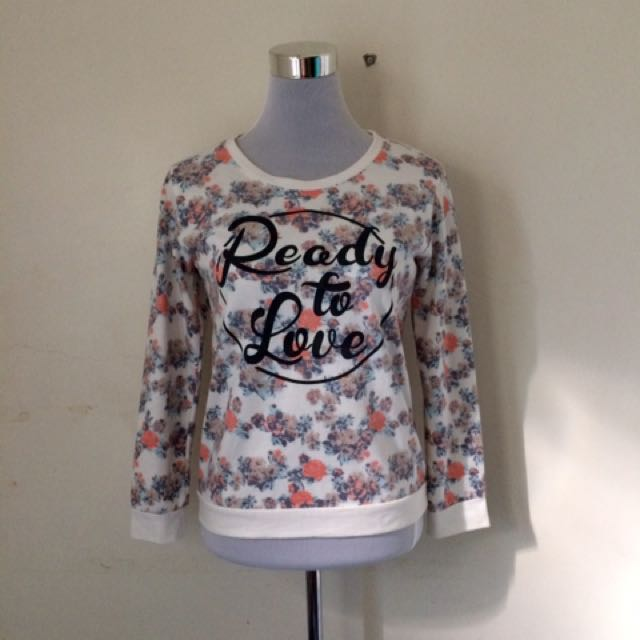 Floral Statement Pullover