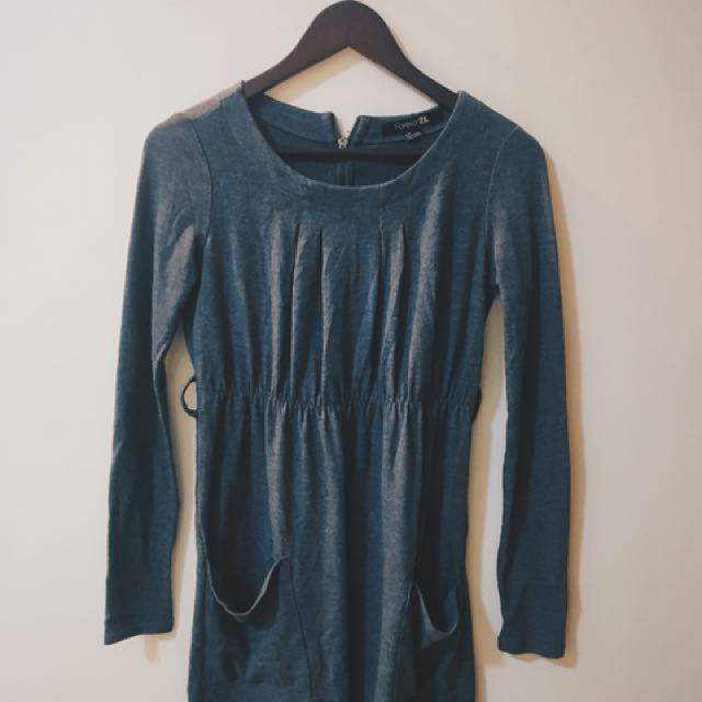 Forever 21 Long-sleeve dress