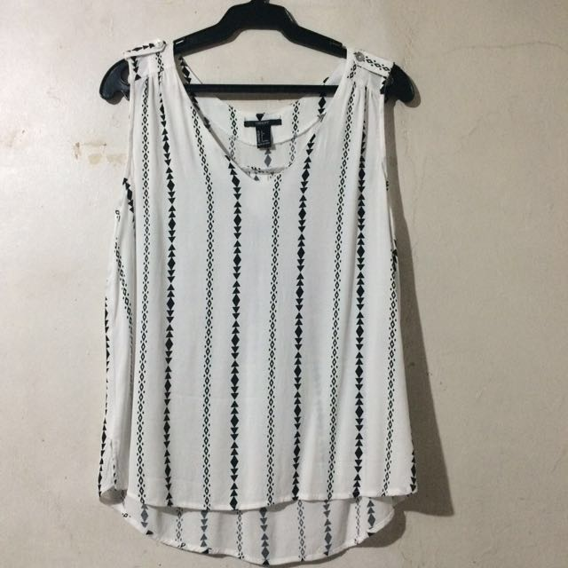 Forever 21 Sleeveless Top - PLUS SIZE!