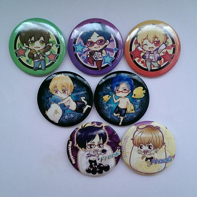Free! Button Badges & Charms + Free Bookmarks (Scroll for more..)