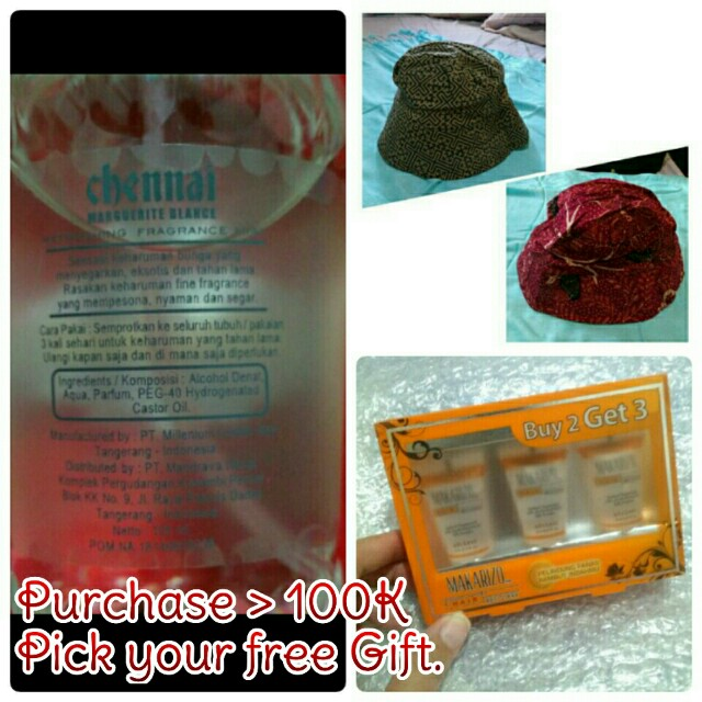 Free Gift for purchase >100K