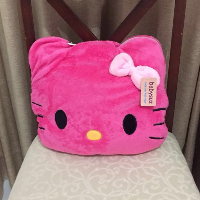 Hello Kitty pillow - blanket
