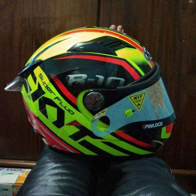 Helm Kyt R10 Full Modifikasi Motorbikes On Carousell