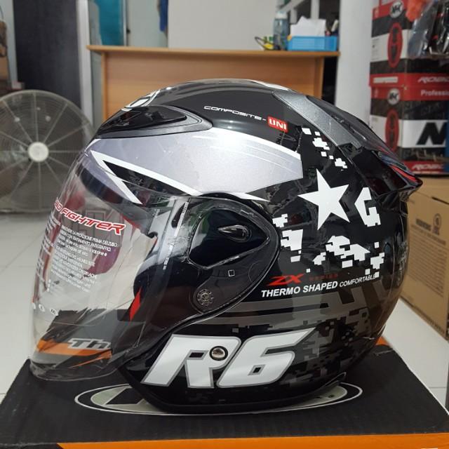 Helm NHK R6 Motif Pixels Motorbikes On Carousell