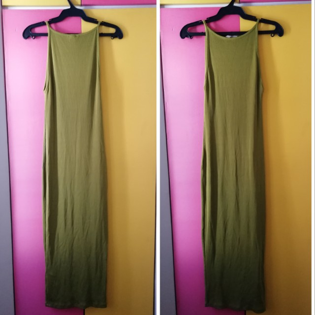 H&M - Green Bodycon Dress