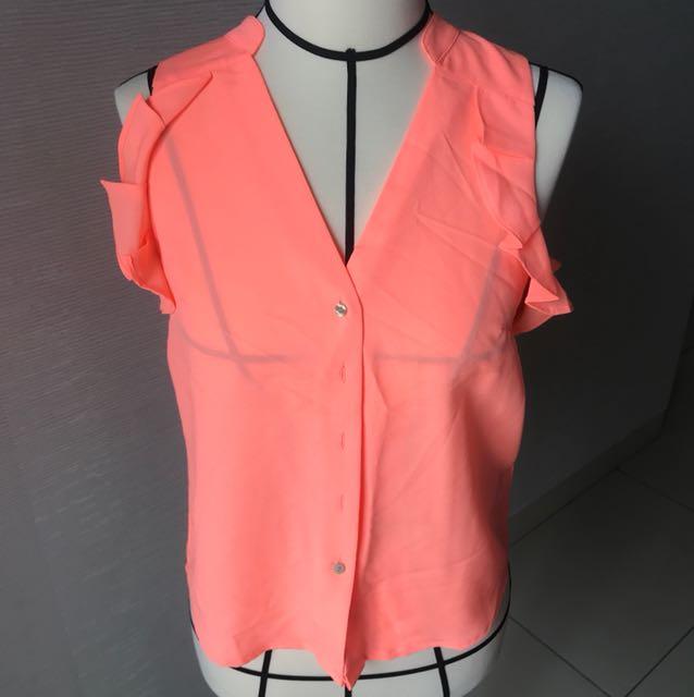 H&M Orange Top