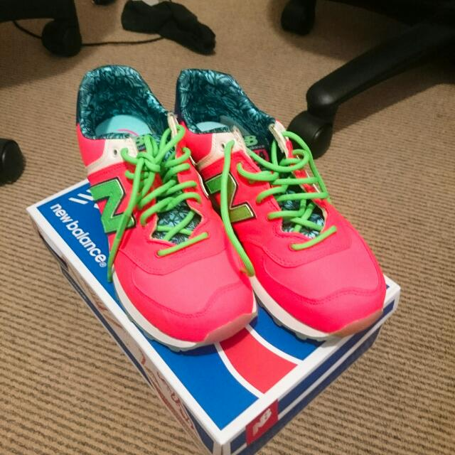 Hot Pink New Balance Sport Shoes Size Au7