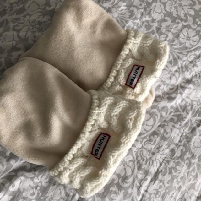 Hunter Cream Coloured Socks