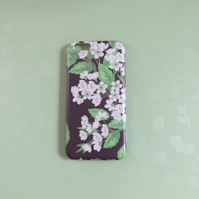 iPhone6/6s case floral pattern