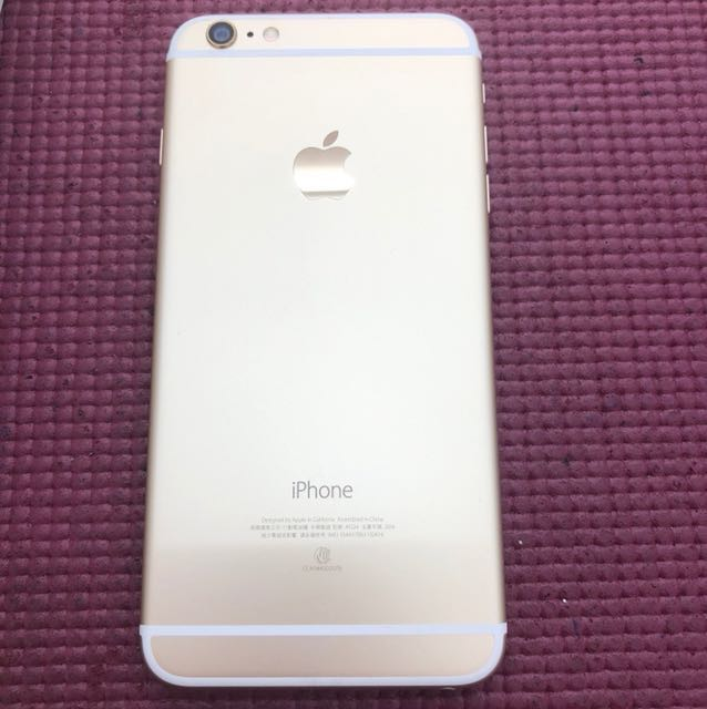 iPhone6 plus64g 金 9.5成新