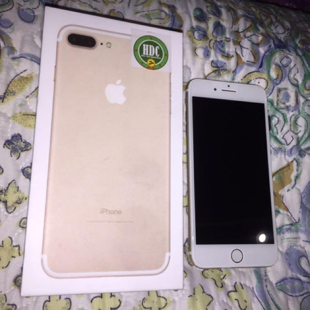 Iphone 7+ Gold Original HDC Ultimate Plus 4G