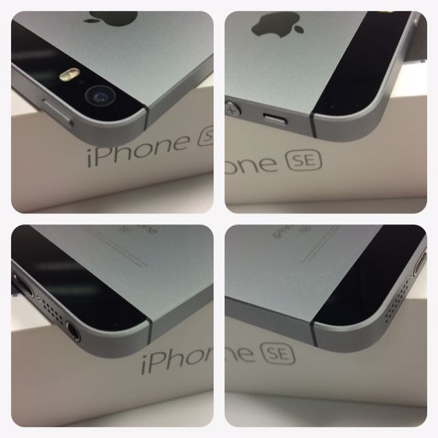 iPhone SE 64G 太空灰