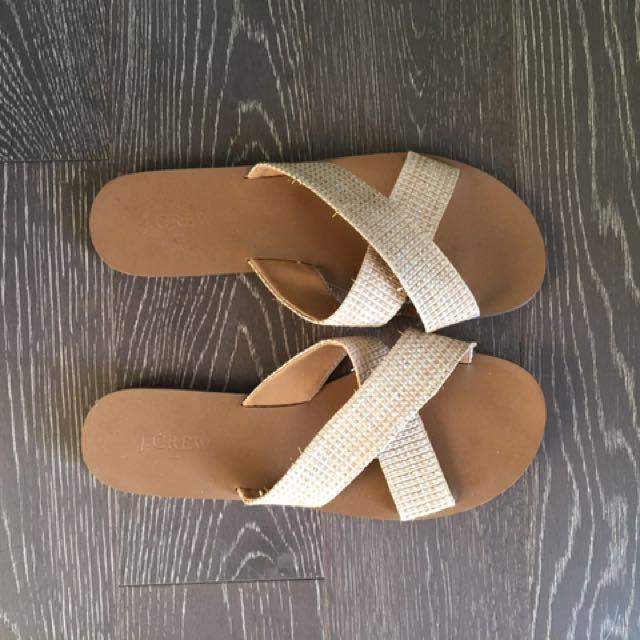 J Crew Slide Sandal - size 9