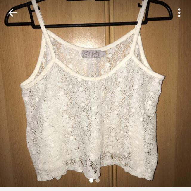 Just-G Lace Top