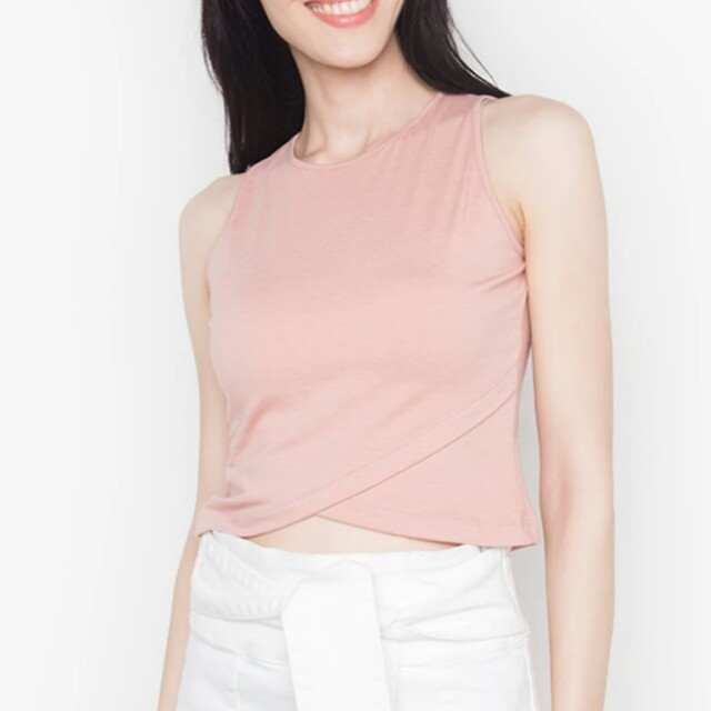 Kashieca sleeveless crop top