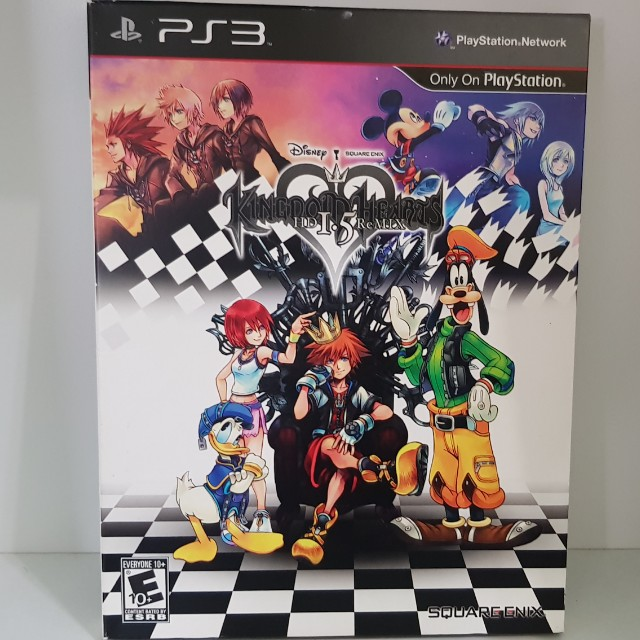 Kingdom hearts 1.5 remix limited editon ps3