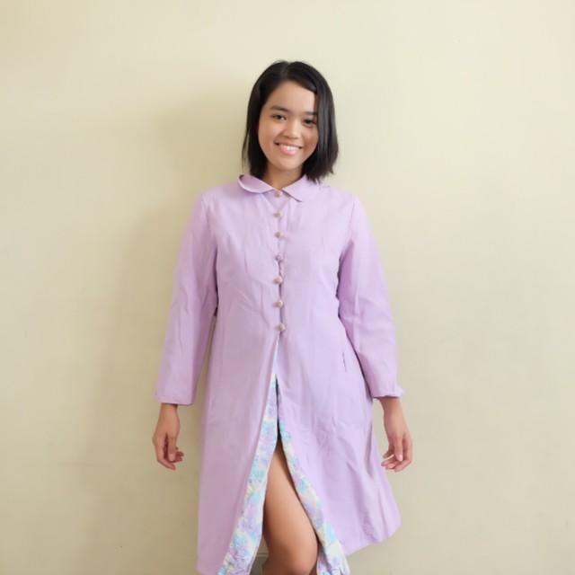 Lavender Dress Coat