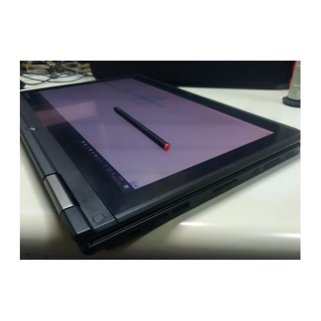 Lenovo ThinkPad Yoga 12.5吋 五代i5 8g SSD 觸控 翻轉 ultrabook FHD