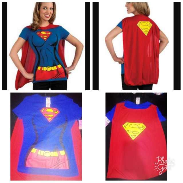 Licensed Supergirl by Rubies USA Costume set