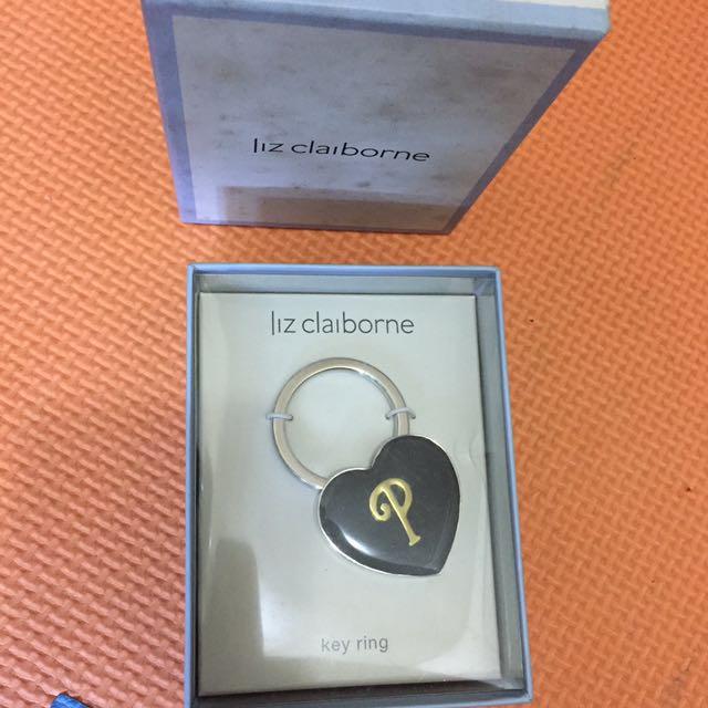Liz claiborne key ring
