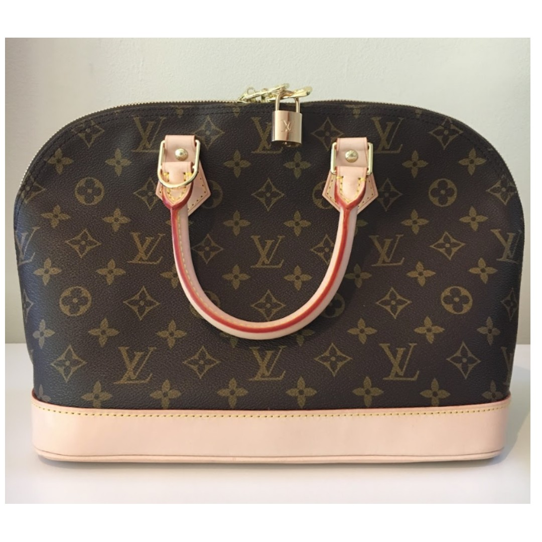Louis Vuitton Alma Medium Top Handle Monogram Bag
