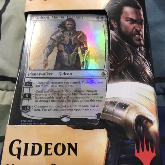 Magic the Gathering AKH Gideon Planeswalker Deck