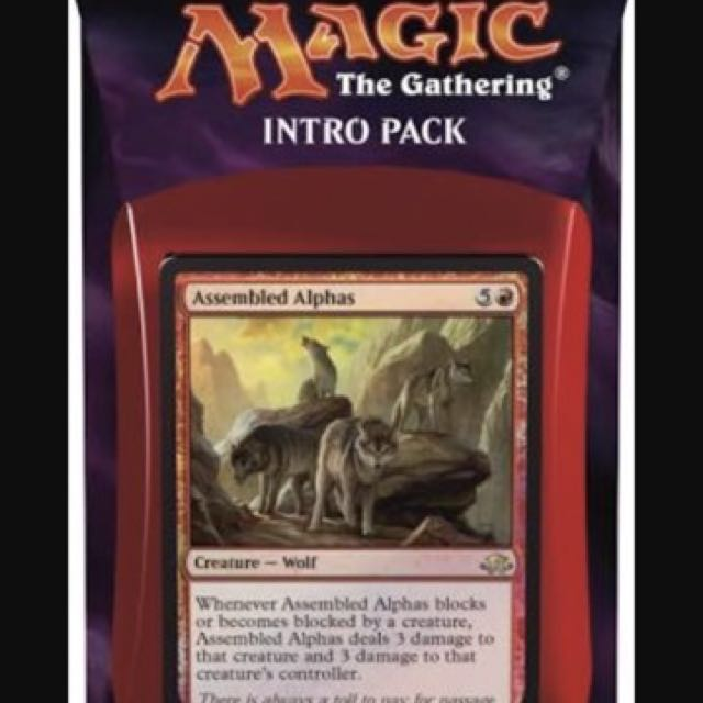 Magic The Gathering Eldritch Moon Untamed Wild Intro Pack