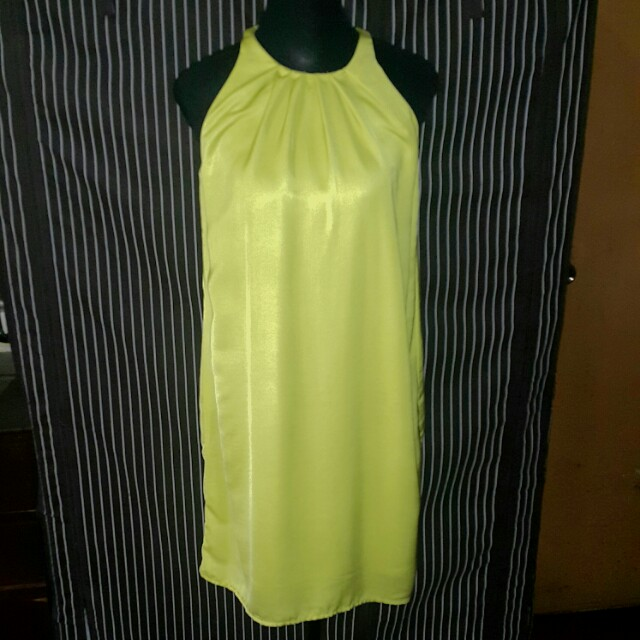 Mango halter dress