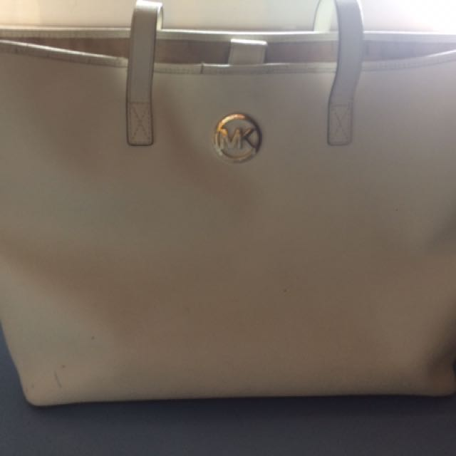 Michael Kors White tote bag