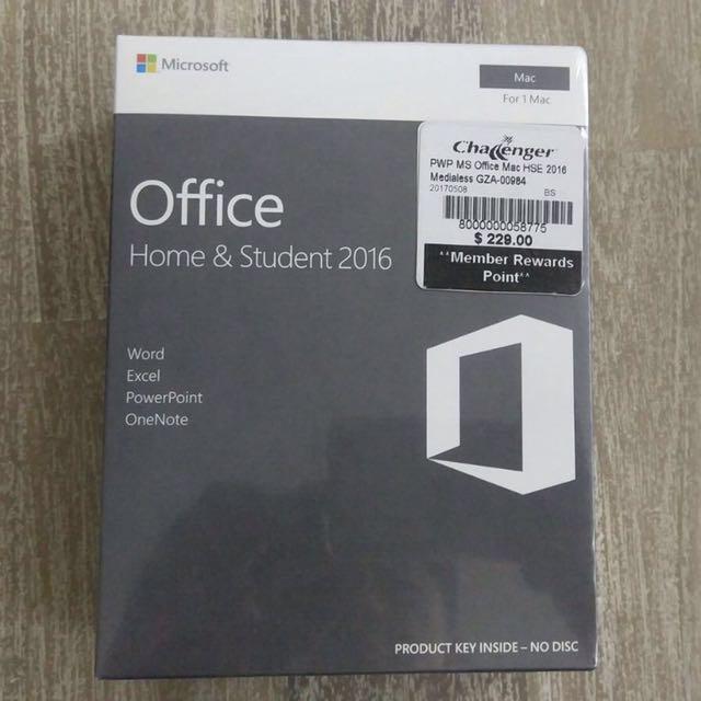 Microsoft Office 2016 Mac Home & Student Version