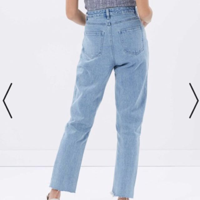 Minkpink High waisted Mum Jeans