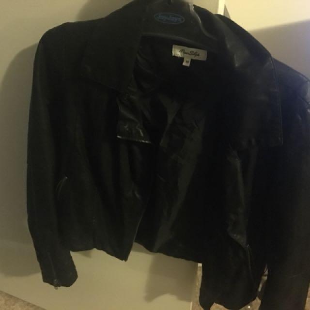 Miss Shop leather jacket