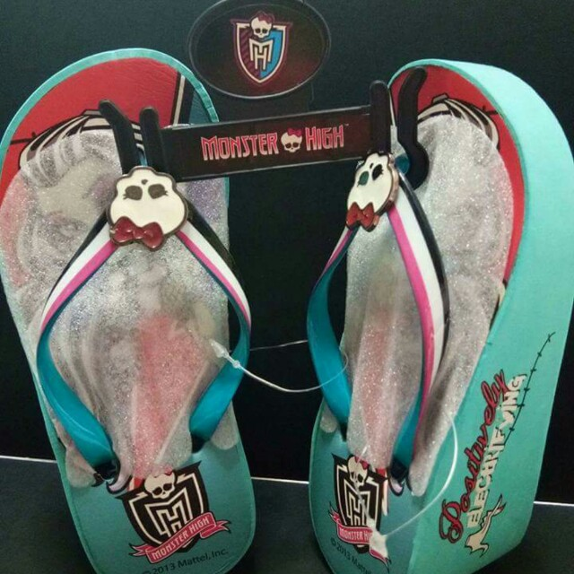 Monster High Wedge Slippers