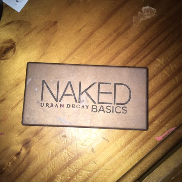 Naked urban decay nude palette