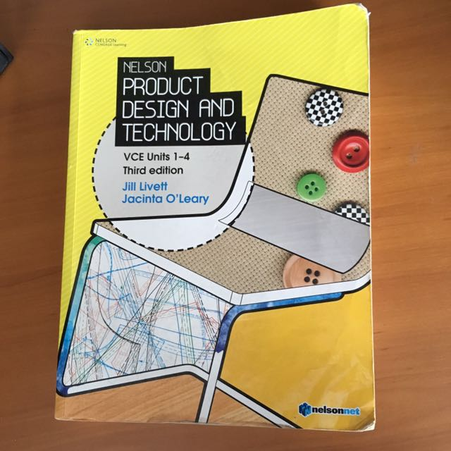 Nelson product design and technology units 1-4
