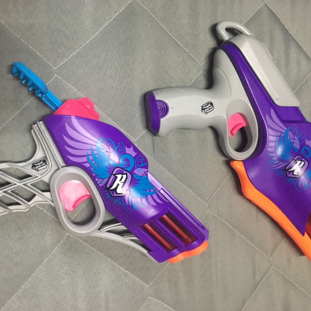 Nerf Rebelle 蕊貝兒系列 女孩用 雙槍組