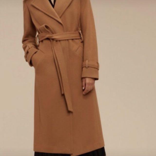 New babaton wool coat