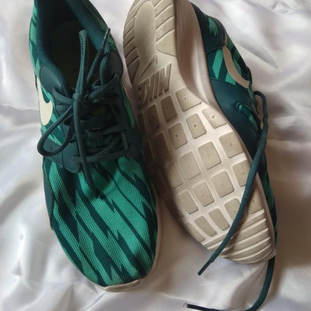 Nike Kaishi Run Green/Blue Green/Teal men's size 10