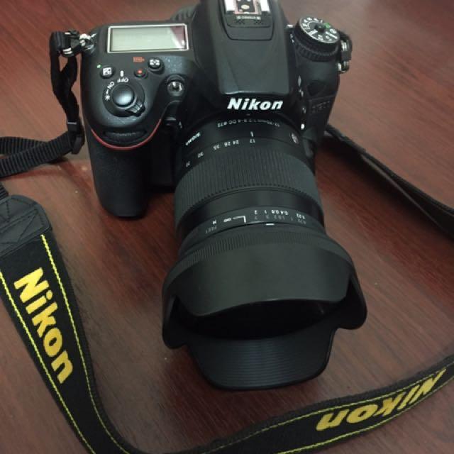 Nikon d7200 + Sigma 17-70 f2.8-4 DC Macro OS HSM IC