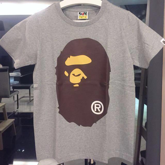 Original FAST SALE NEW Bape A bathing Ape head ladies shirt