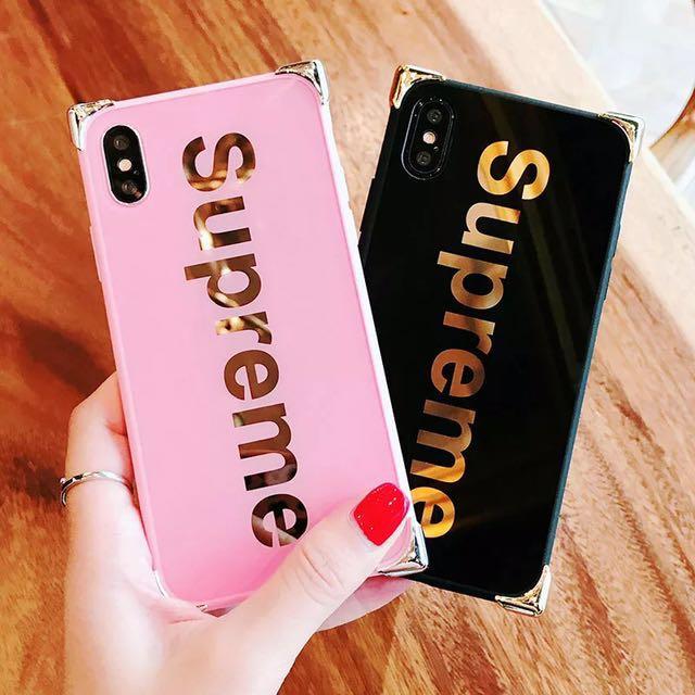 """new york 8df4e bc6e7 [PO] """"Supreme"""" Letters Reflective iPhone Case"""