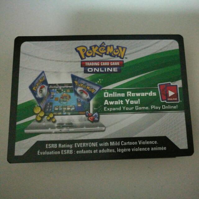 Pokemon TCG Online Codes Cards Crimson Invasion