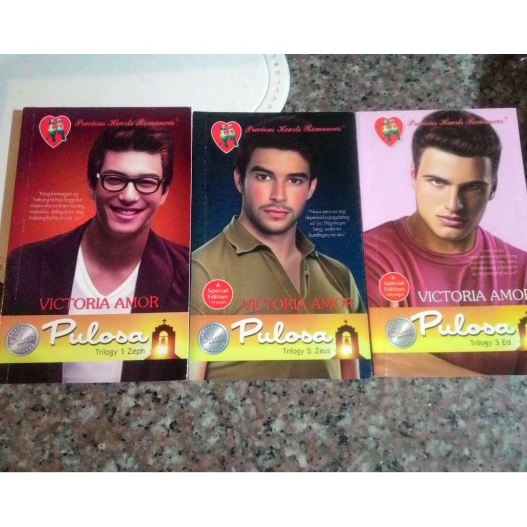 Precious Hearts Romances Pullosa Trilogy by Victoria Amor