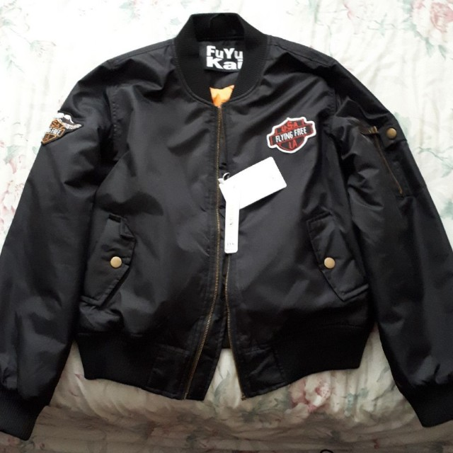 PRICE DROP BRAND NEW BOMBER JACKET WITH TAGS ON